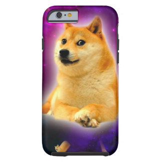 bread  - doge - shibe - space - wow doge tough iPhone 6 case