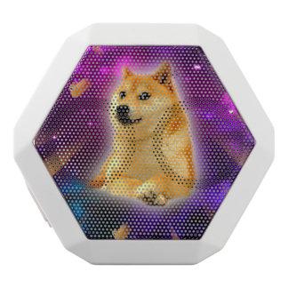 bread  - doge - shibe - space - wow doge white bluetooth speaker