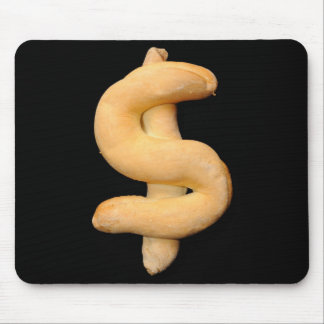 Bread Dollar Mouse Pad