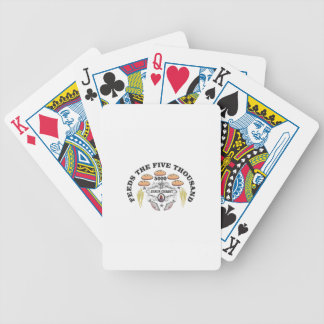 bread jc feed to 5000 bicycle playing cards