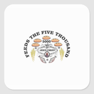 bread jc feed to 5000 square sticker