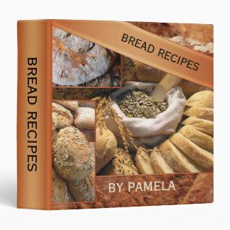 Bread Recipe Binder