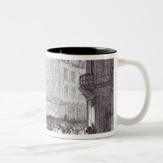 Bread Riot, in the Rue du Faubourg St. Antoine Two-Tone Coffee Mug
