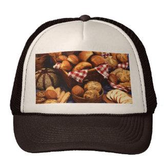 Bread still life hats