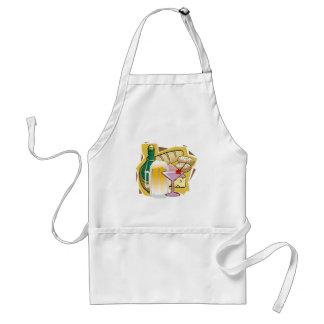 bread wine party standard apron