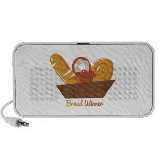 Bread Winner Notebook Speaker