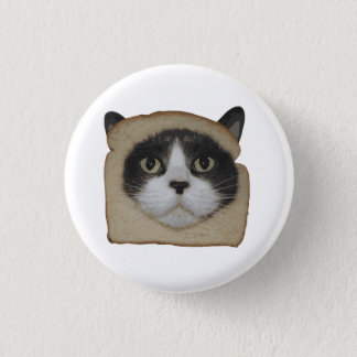 Breaded Inbread Cat Breading 1 Inch Round Button