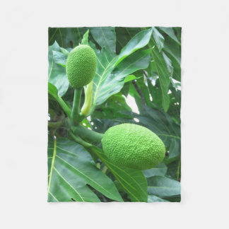 Breadfruit Fleece Blanket