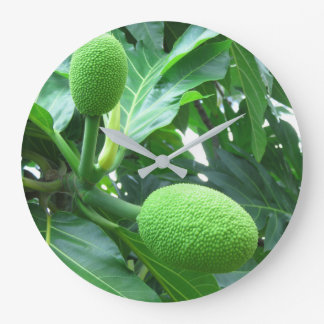 Breadfruit Large Clock