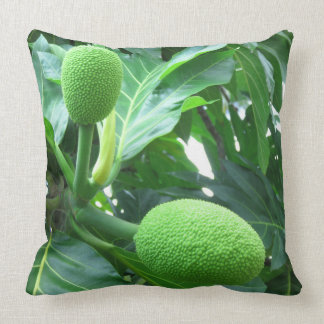 Breadfruit Throw Pillow