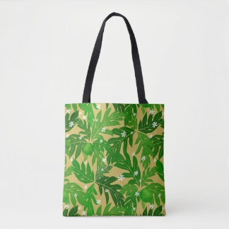 Breadfruit & Tiare Tote Bag