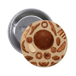 Breads and Pretzels of Prague 2 Inch Round Button