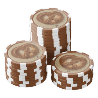 Breads and Pretzels of Prague Poker Chips