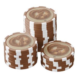 Breads and Pretzels of Prague Poker Chips Set