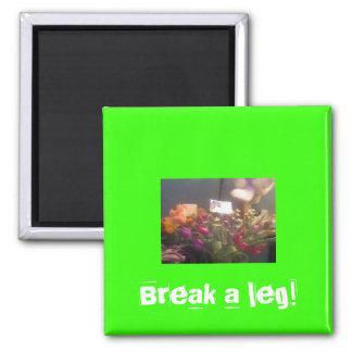 Break a Leg Magnet