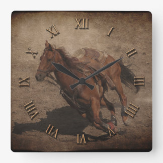 Break A-Way Rodeo Horse Wallclocks