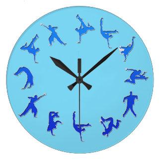 Break Dance Clock