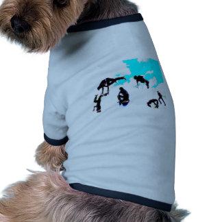 Break dance doggie t shirt