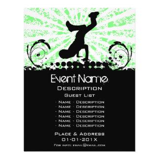 Break Dance Event Promotion Full Color Flyer