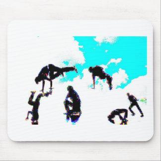 Break dance mousepads