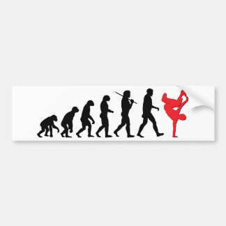 Break Dancing Bumper Sticker