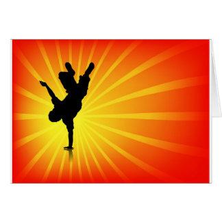 Break Dancing Cards