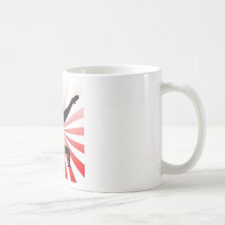 break dancing explosion classic white coffee mug