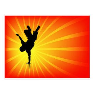 Break Dancing Post Cards