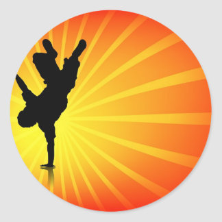 Break Dancing Stickers