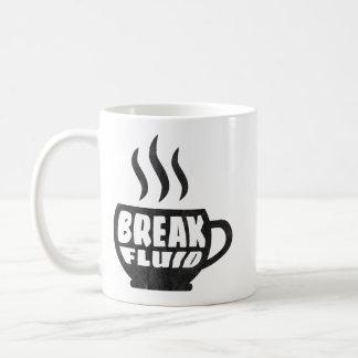 Break Fluid Grunge Graphic Coffee Mug Design