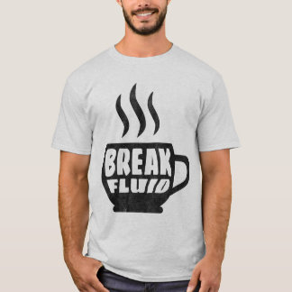 Break Fluid Grunge Graphic Coffee T-shirt Design