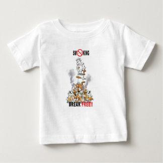 Break Free - Stop Smoking Baby T-Shirt