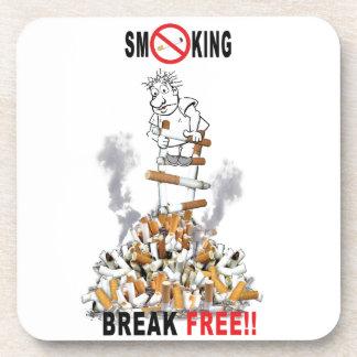 Break Free - Stop Smoking Coaster