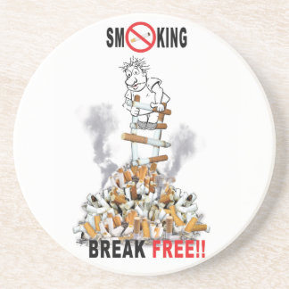 Break Free - Stop Smoking Coaster