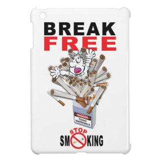 BREAK FREE - Stop Smoking iPad Mini Cover