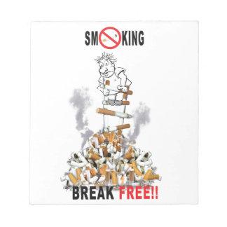 Break Free - Stop Smoking Notepads