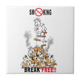 Break Free - Stop Smoking Tile