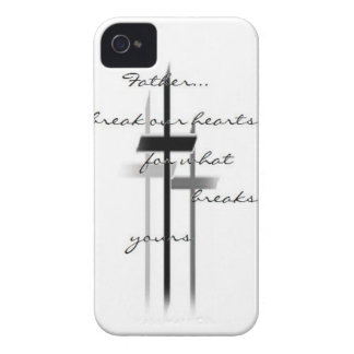 Break our Hearts Father iPhone 4 Cover