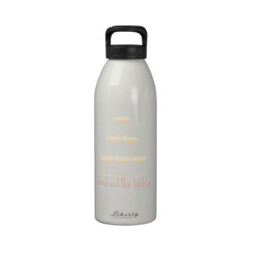 Break Out The Bubbly Water Bottle