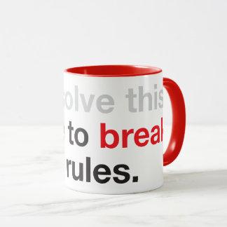 Break Some Rules Mug