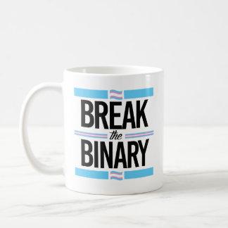Break the Binary - -  Coffee Mug