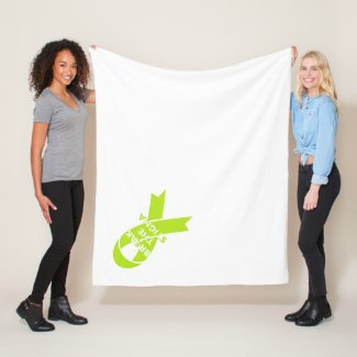 Break the Stigma Fleece Blanket