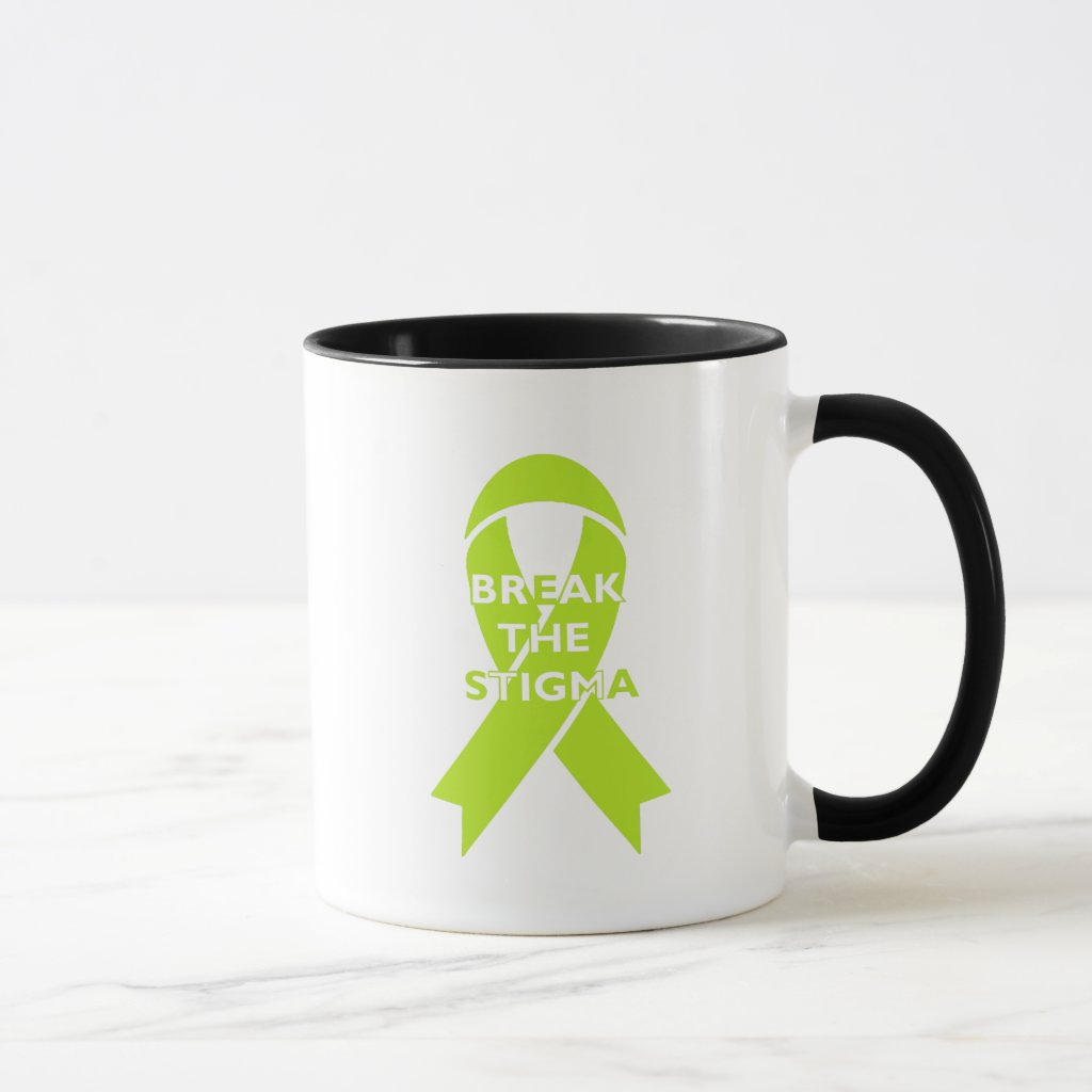 Break the Stigma - White Mug