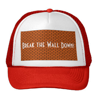 Break the Wall Down, Orange Brick Trucker Hat