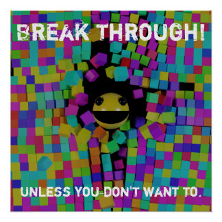Break Through Poster