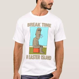 Break time on Easter Island T-Shirt