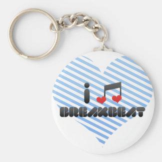 Breakbeat fan keychain