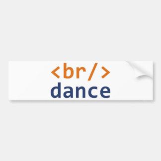 Breakdance Code Bumper Sticker