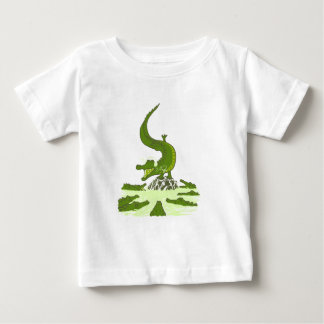 Breakdance crocodile baby T-Shirt
