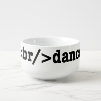 breakdance HTML Soup Bowl With Handle